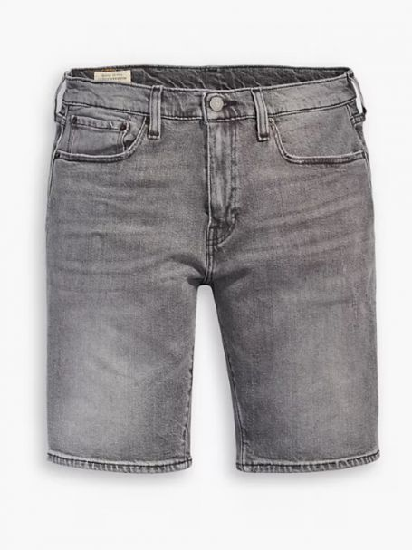 Men's Levi's 502 Taper Denim Jean Shorts GREY