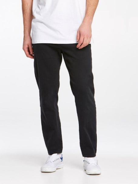 Men's Riders By Lee R3 Taper Denim Jeans in Carbon Black