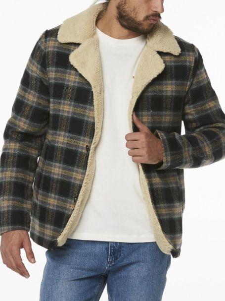 Wrangler Cabin Jacket BLACK CHECK
