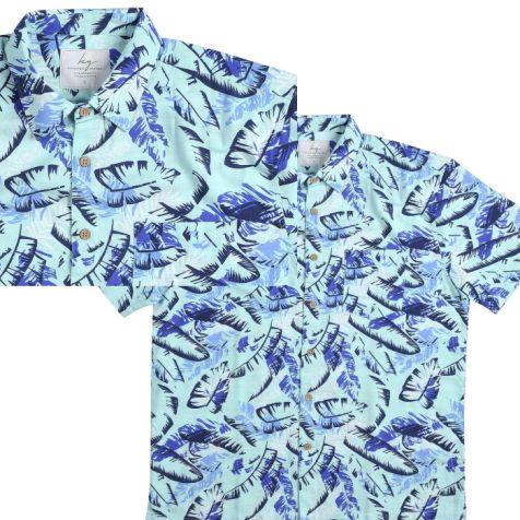 Men's Bamboo Fibre Short Sleeve Shirts SKY PALMS