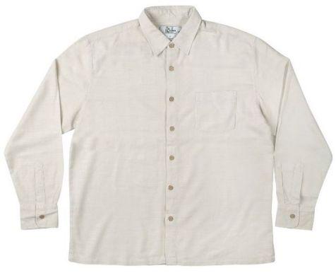 Mens Bamboo Fibre Long Sleeve Shirts: Mens fashion clothing