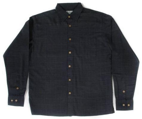 Mens Bamboo FibreLong Sleeve Shirts: Navy