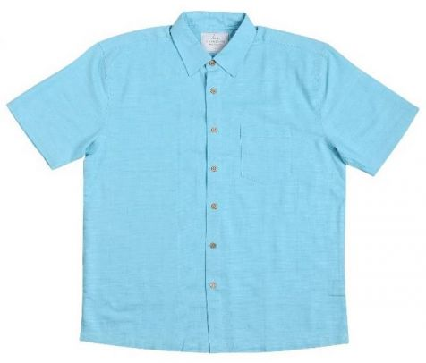 Mens Bamboo Fibre Short Sleeve Shirts: Island Paradise