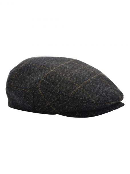 Men's Thomas Cook Check Driver Cap BROWN