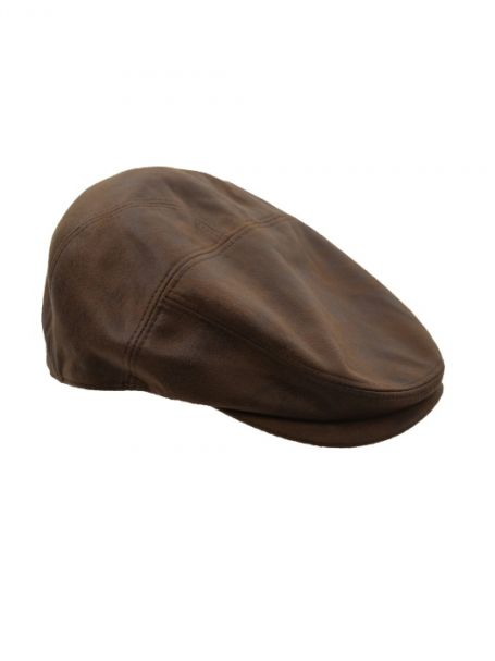 Men's Thomas Cook 'Harry' Driver Cap COFFEE