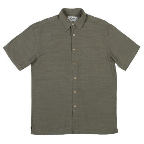 Mens Bamboo Fibre Short Sleeve Shirts: Jungle