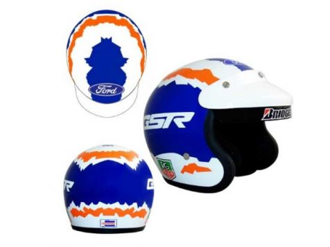 1:2 Mini Helmets Glenn Seton 1996 to 1998 Helmet Replica Model