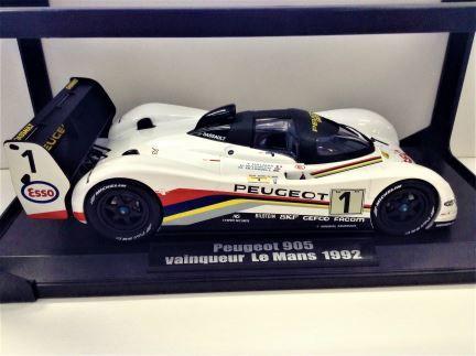 PRELOVED - 1:18 NOREV - Peugeot 905 - Le Mans 1992 - Item #184770