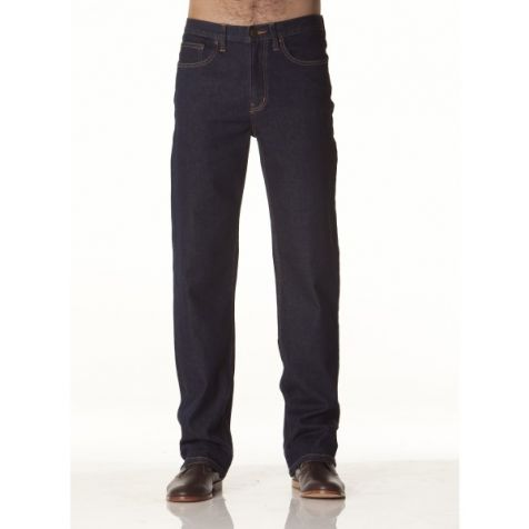 Men's Riders by Lee Straight Stretch Denim Jeans NAVY