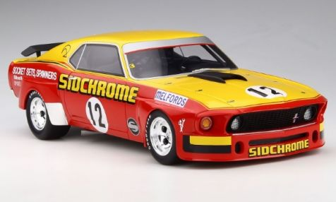 1:18 Classic Carlectables Ford XA Falcon RPO83 Coupe in Yellow Fire