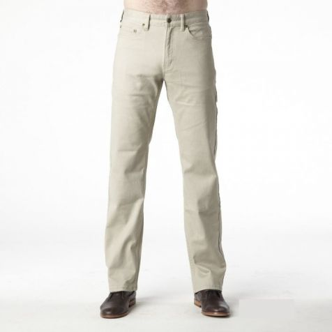 Men's Riders by Lee Jean Style Straight Stretch Moleskins STONE