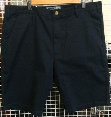 Riders By Lee Straight Stretch Twill Short - Navy