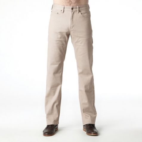 Men's Riders By Lee Straight Stretch Chino Pant - Stone