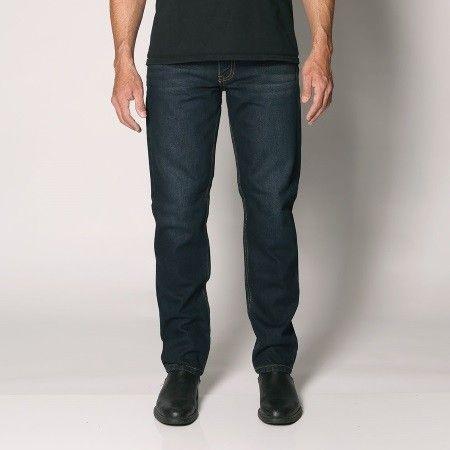 "Sterling - Men's Regular Fit Rigid Denim Jeans - Straight Leg - 30""/32""/34"" Inleg - ""Diesel"" Waist Size: 28""-48"""