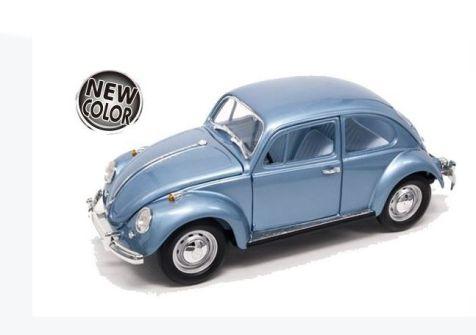 1:18 Road Signatures 1967 Volkswagen Beetle. Metallic Blue