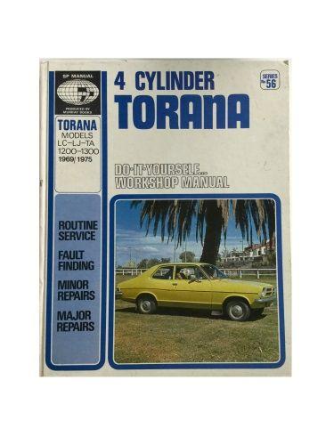 Scientific Publications Manual 4 Cylinder Torana LC-LJ-TA 1200-1300 1969/1975 DIY Workshop Manual