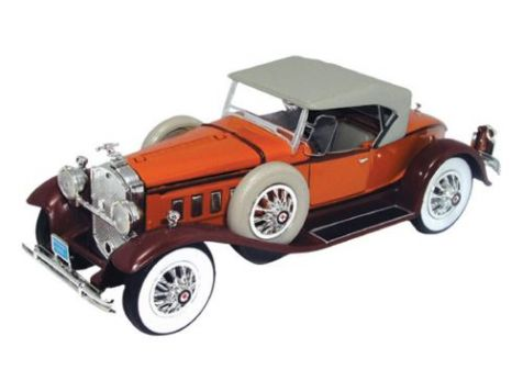 1:32 Signature Models 1930 Packard Two Tone Brown with Light Grey Soft Top 32315