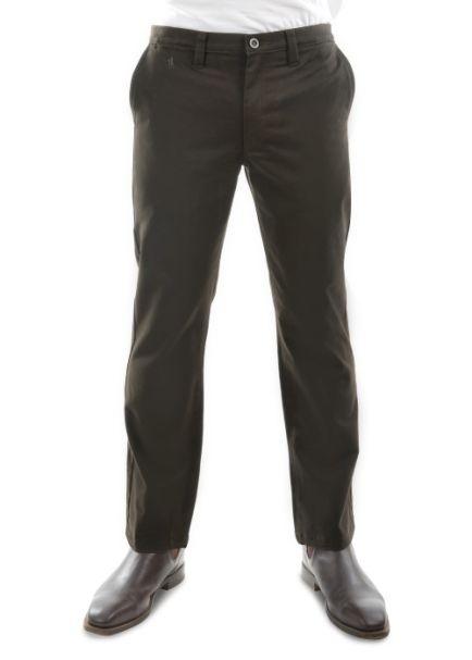Men's Thomas Cook Moleskin Trousers DARK KHAKI