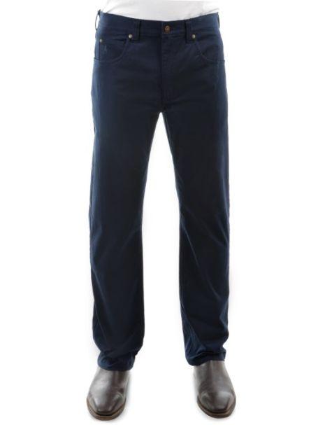 Men's Thomas Cook Straight Leg Stretch Moleskin Jeans NAVY