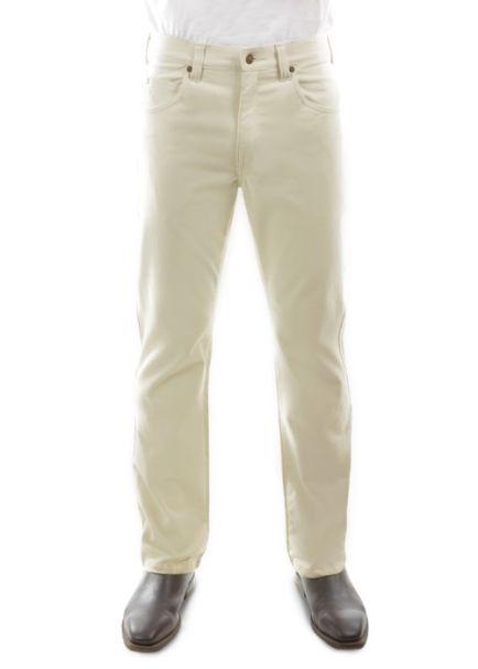Men's Thomas Cook Straight Leg Stretch Moleskin Jeans STONE
