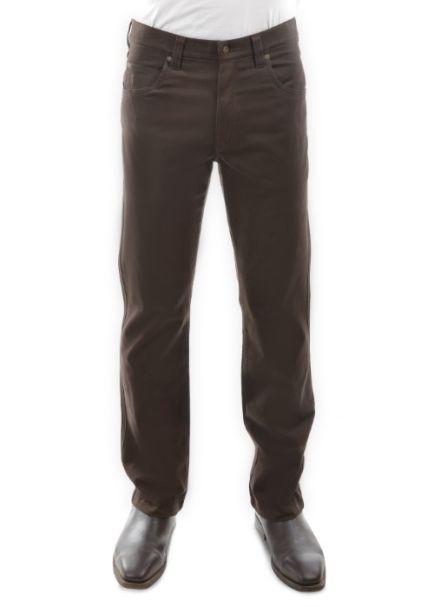Men's Thomas Cook Straight Leg Stretch Moleskin Jeans RICH BROWN