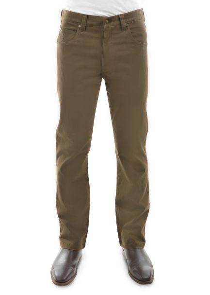 Men's Thomas Cook Straight Leg Stretch Moleskin Jeans WHISKEY