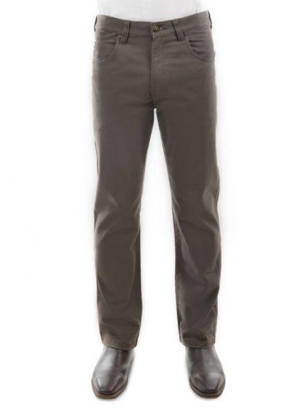 Men's Thomas Cook Straight Leg Stretch Moleskin Jeans GREYSTONE
