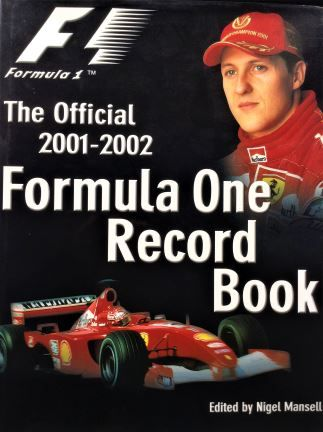The Official 2001-2002 Formula One Record Book - European Press Limited - 2001 - 0-9541368