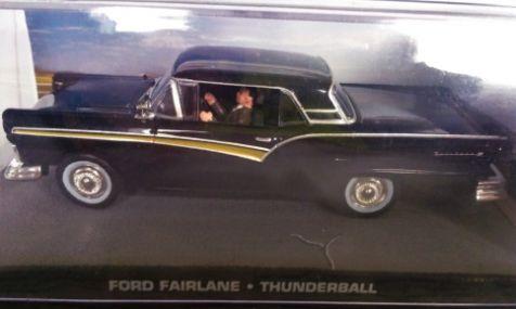 1:43 Ford Fairlane from 007 movie 'Thunderball'
