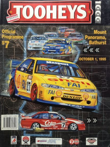 tooheys-1000-official-programme-sunday-1st-october-1995
