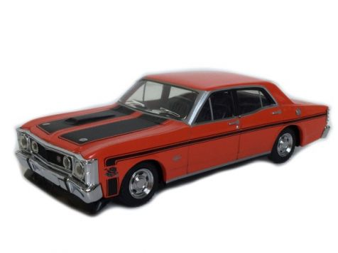 PRELOVED 1:43 Trax Ford XW Falcon GTHO Phase II Red Vermillion Fire TR34D
