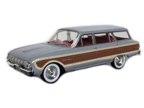 1:43 TRAX Ford Falcon XL Squire Wagon - Emu Grey diecast model car