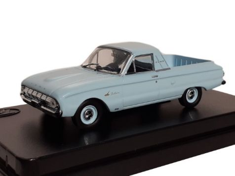 1:43 TRAX Ford Falcon XL Deluxe Utility - Reef Blue - TR43B