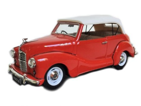 1:43 Trax - Austin A40 Soft Top - Red TRR19