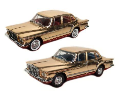 1:43 Trax 1962 Chrysler R & S Series Valiant - 50th Anniversary Gold Twin Set