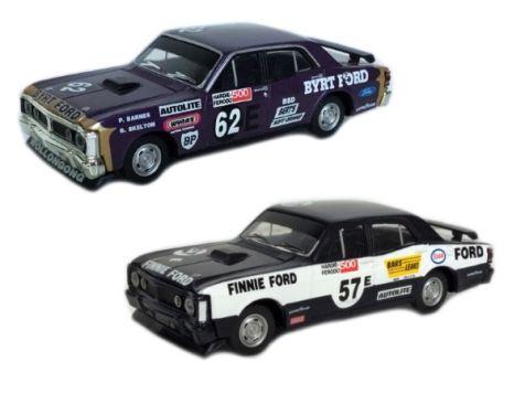 1:43 TRAX  Ford XY Falcon GTHO Phase III - Bathurst '71 Set - Barnes/Skelton - TRS4