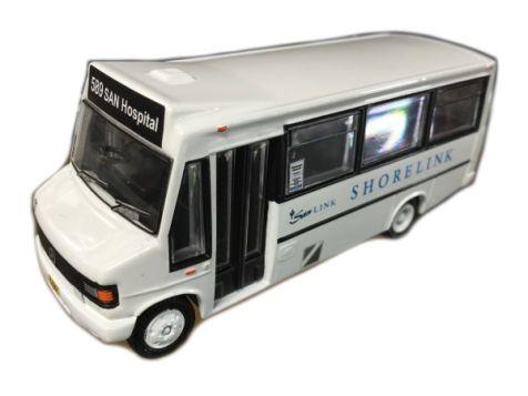 1:76 TRUX - Mercedes Minibus - Route 589 SAN Hospital - Shorelink - TX14C