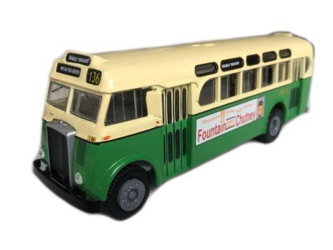 1:76 TRUX - 1953 Daimler CV Single Decker Bus - Item #TX1C