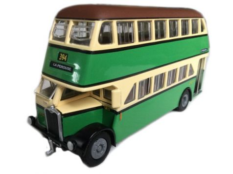 1:76 TRUX 1947 Albion Venturer Double Decker Bus TX2B
