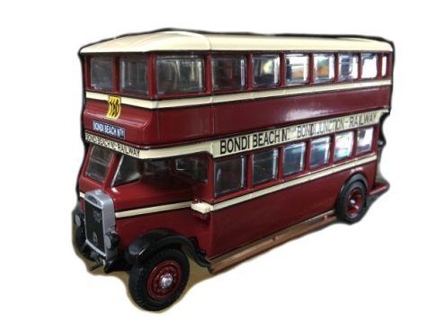 1:76 TRUX - 1929 Leyland Titan TD1 Double Decker Bus - Route 88 - TX3