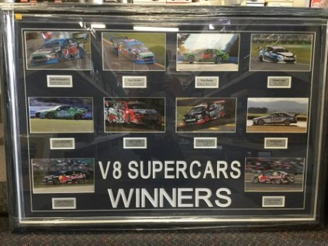 """Motor Racing Legends"" Photographs Compilation"