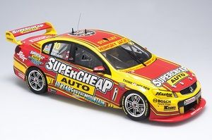 1:18 Biante 2014 Holden VF Commodore #10 Supercheap Auto Racing- Drivers: Tim Slade / Tony D'Alberto diecast model car