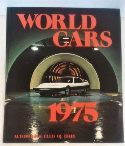 World Cars 1975 - Automobile Club Of Italy-Hardcover-ISBN-0-910714-07-X