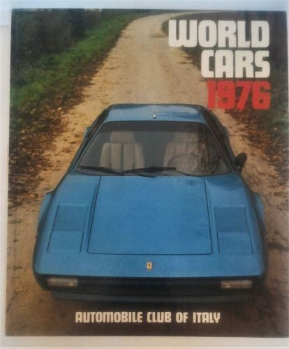 World Cars 1976 - Automobile Club Of Italy-Hardcover-ISBN0-910714-08-8