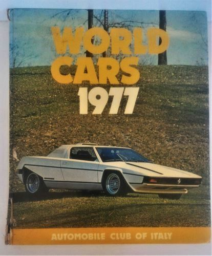World Cars 1977 - Automobile Club Of Italy-Hardcover-ISBN 0-910714-09-6